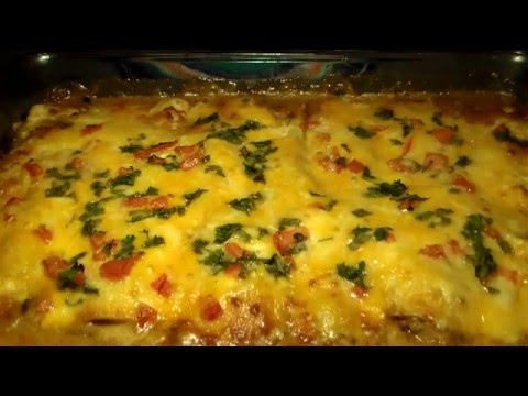 How To Make REAL Mexican Enchiladas: Homemade Chicken Enchil