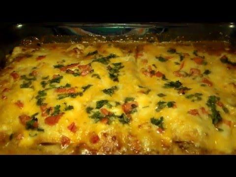 How To Make REAL Mexican Enchiladas: Homemade Chicken Enchilada Recipe