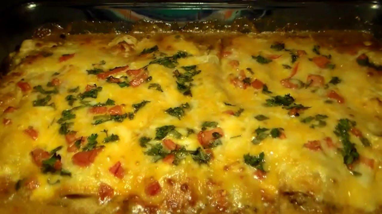 How To Make Real Mexican Enchiladas Homemade Chicken Enchilada