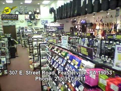 George's Music Feasterville, PA Store Tour