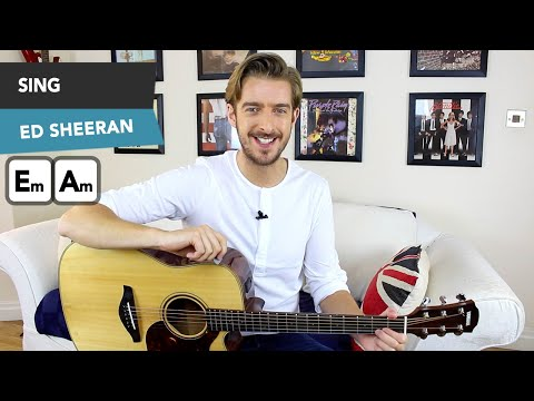 Sing Ed Sheeran guitar Lesson | How to play Sing on guitar