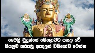 මෛත්රී බුදුන් මෙලොවට පහල වේද? - Maithree Buddha