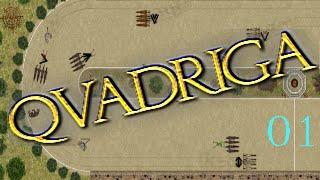 Quadriga - Cap.1 - Hemos perdido a Medianus - Campaña con los Praesina - gameplay español