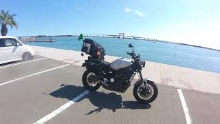 バイクで日本一周(YAMAHA-XSR900)