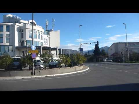 Outside Hotel Keto in Podgorica   Montenegro   December 2014