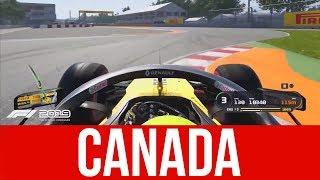 F1 2019 NEW Gameplay - Customization & Canada