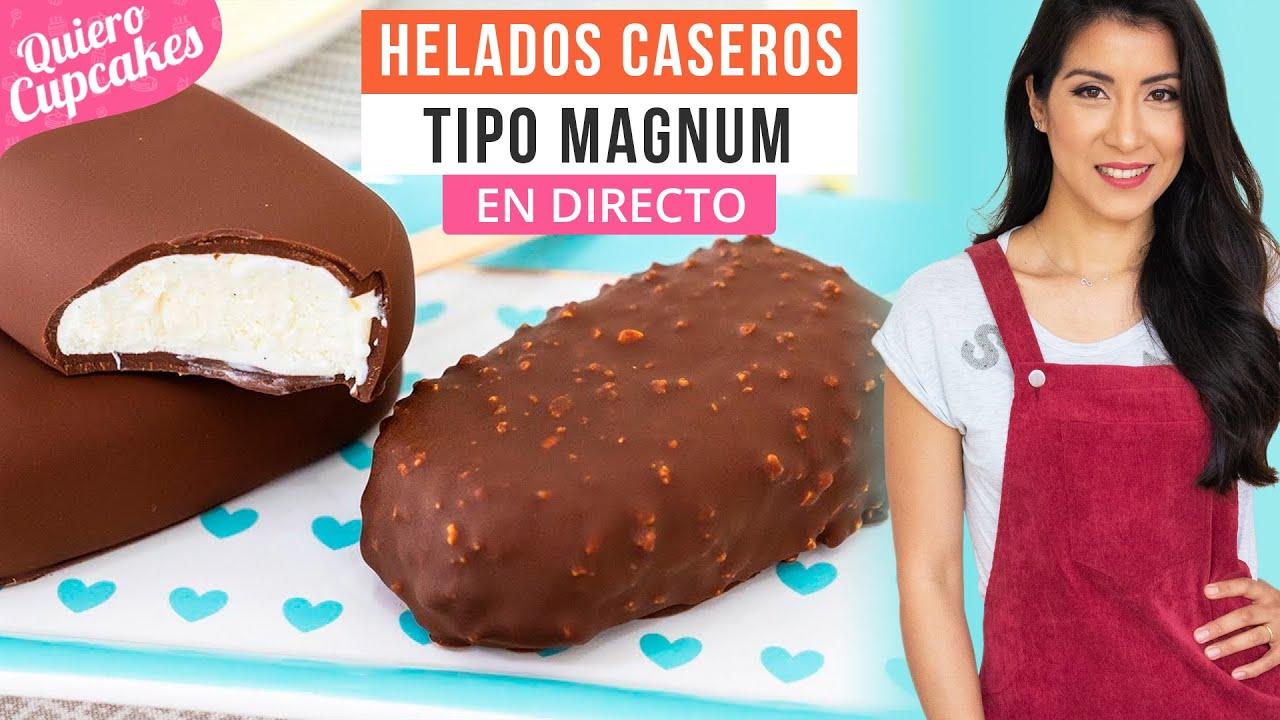 🔴LIVE: MASTER CLASS HELADOS CASEROS TIPO MAGNUM   EN DIRECTO   QUIERO CUPCAKES