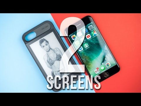 Oaxis InkCase i7 for iPhone 7 – Review – A second screen!