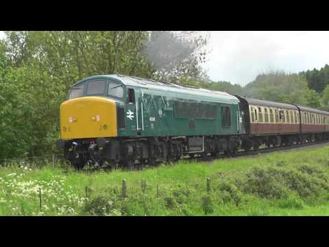 Severn Valley Diesel Festival 19th May 2017 part 1