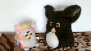 furby and furby baby talking to each other furby buddies