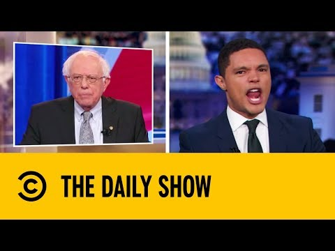 Bernie Sanders Defends Voting Rights For Criminals | The Daily Show with Trevor Noah