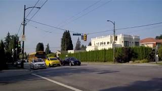 Walking in Vancouver BC Canada - Oak Street - From 49th Ave to South Part - Tour of City