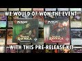 MTG Guilds of Ravnica PreRelease Kit | Golgari Boros