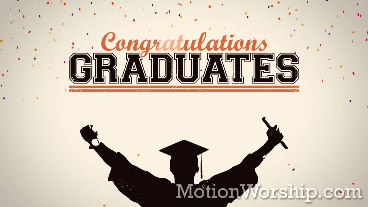 graduation confetti congrats hd loop by motion worship