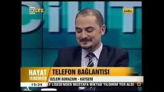Sosyal Hizmet Bölümü ve İş Fırsatları ( ÜLKE TV HAYAT TERCİHTİR )