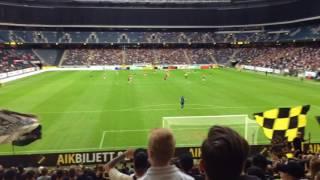 Allmänna Idrottsklubben AIK (AIK-Kalmar FF 0-1)