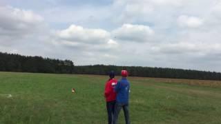 Christoph fliegt das F3C Programm mit dem Ninja 400 MR von JR PROPO