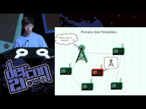 Defcon 21 - Hacking Wireless Networks of the Future: Security in Cognitive Radio Networks