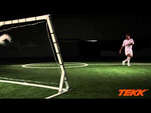 Tekk Trainer Soccer Training  ball control from distance