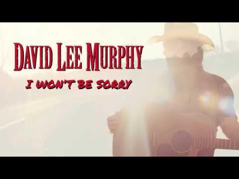 David Lee Murphy  I Wont Be Sorry  Lyric