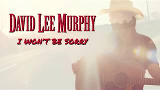 David Lee Murphy I Won 39 T Be Sorry Official Audio