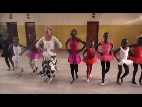 Anno's Africa ballet class with Anna Nygh