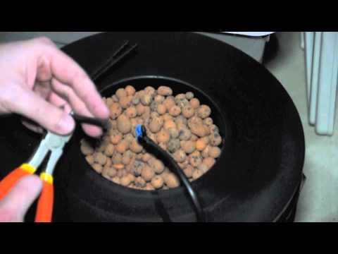 Diy Hydroponics Top Drip Bucket System Youtube