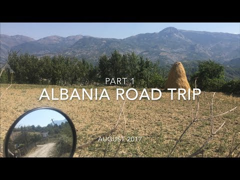 Albania Road Trip on an R1200GS - Part 1.