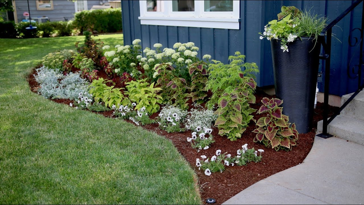 Flowerbed Makeover Start To Finish Youtube