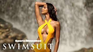 Lais Ribeiro Dares To Take On The Epic Waterfalls Of Sumba Island | Sports Illustrated Swimsuit