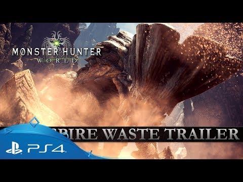 Monster Hunter: World | Wildspire Waste Trailer | PS4