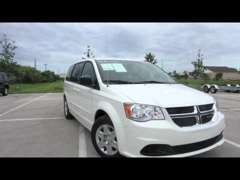Used 2013 Dodge Grand Caravan Stone White Clearcoat at Naples Dodge