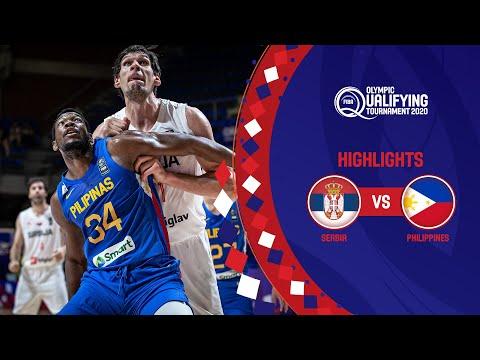 Serbia - Philippines | Game Recap - FIBA Olympic Qualifying Tournament 2020