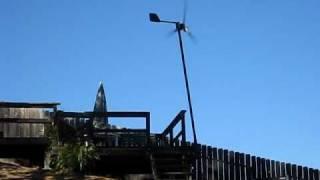 WindTurbine in Corona, California
