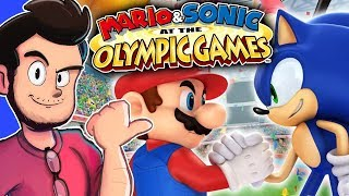 Mario & Sonic at the Olympic Games - AntDude