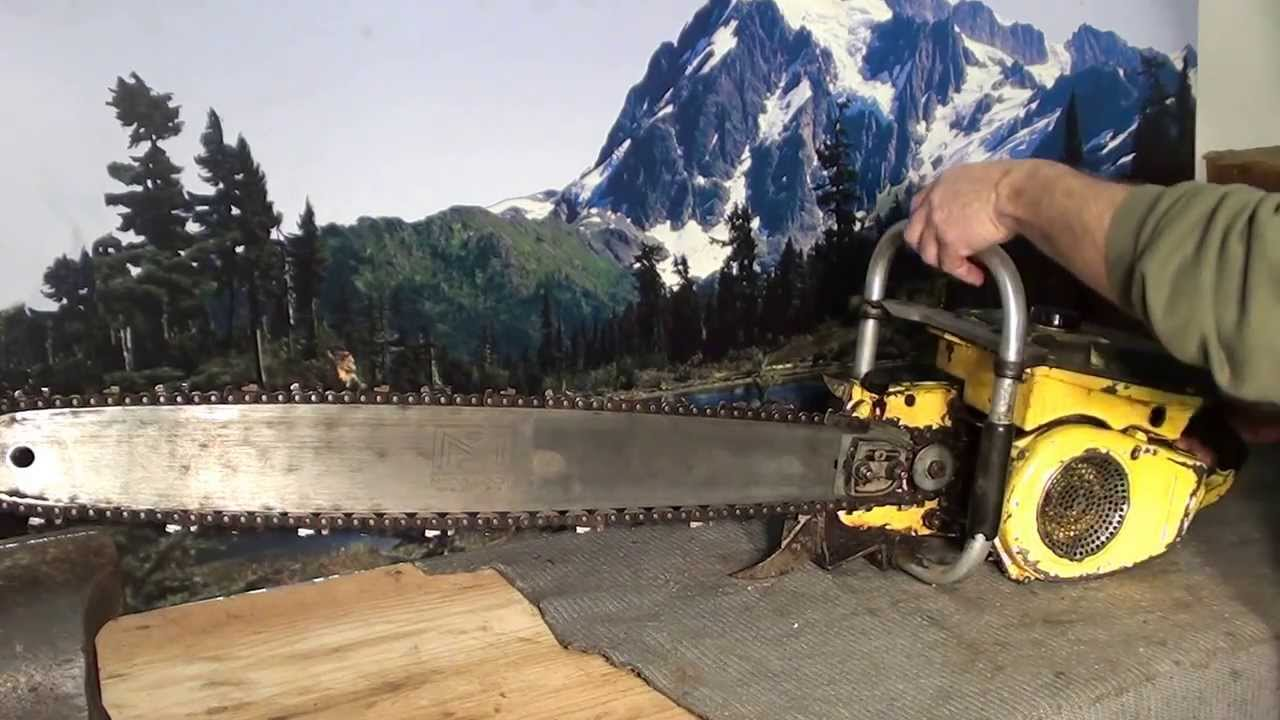 The chainsaw guy shop talk Husqvarna Stihl McCulloch chainsaws he collects  1 18