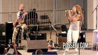 "Chrisette Michele - ""A Couple of Forevers"" Surprise Harlem Performance"