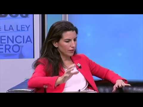 Rocío Monasterio y Francisco Serrano en el Especial Victimas de la Ley de Violencia de Género