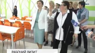 Детский омбудсмен Анна Кузнецова находится с рабочим визитом в Белгороде