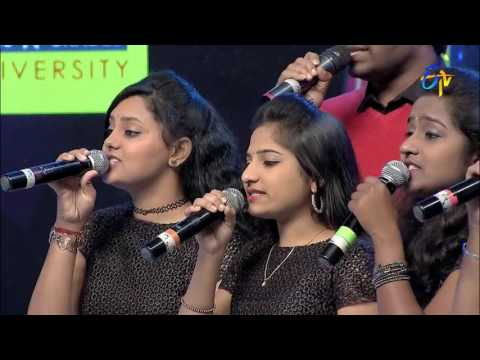 Yem Pillado Song | Vandemataram Srinivas Performance | Super Masti | Srikakulam | 19th February 2017