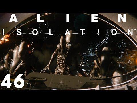 [60fps] Alien Isolation - Part 46 - Völlig Schwerelos [Schwer]