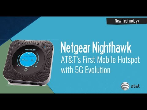 AT&T Netgear Nighthawk - New Hotspot Device - Product Unboxing & Overview