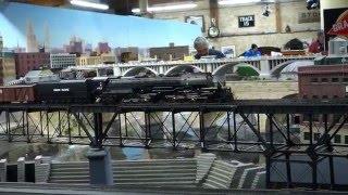 Union Pacific Big Boy 4-8-8-4 Steam Locomotive at The TCMRM.