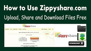 How to Use Zippyshare | Easy  Upload, Share and Download Files Free