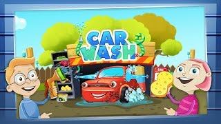 Kids Car Wash Salon Game | Dream Cars Factory - Car Service: Learning Cartoons & Games for kids TV