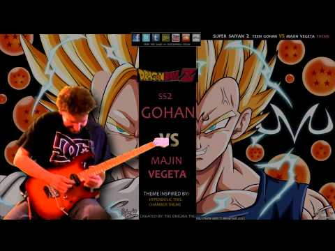 Enigma TNG's SSJ2 Gohan Vs Majin Vegeta Ft. Scott Morgan
