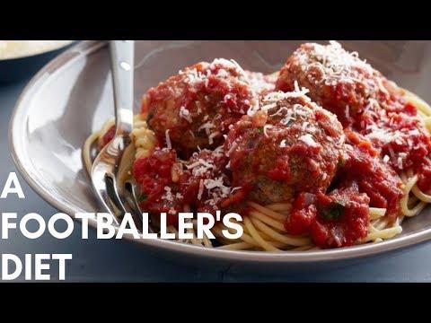 A Footballer's Full Day Of Eating | Footballer's Diet