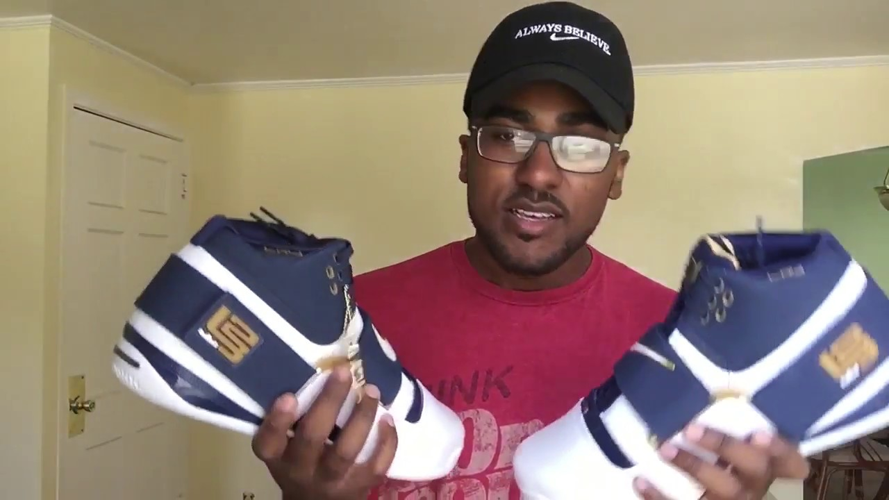 """38823760a0c EARLY FIRST LOOK  NIKE LEBRON SOLDIER 1 """"CHAMPIONS THINK 16"""" REVIEW ..."""