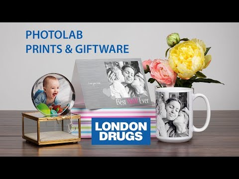 London Drugs Photolab: Printing & Gifts