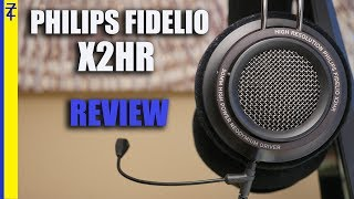 Philips Fidelio X2HR Review with V-Moda Boompro Mic